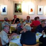 Prijetno druženje v gostilni Miklavž v Bilčovsu