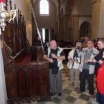 Ogled cerkve v Vetrinju
