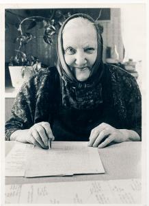 Antonija Šifrer, Gregorčeva mama pri pisanju zgodovinske kronike