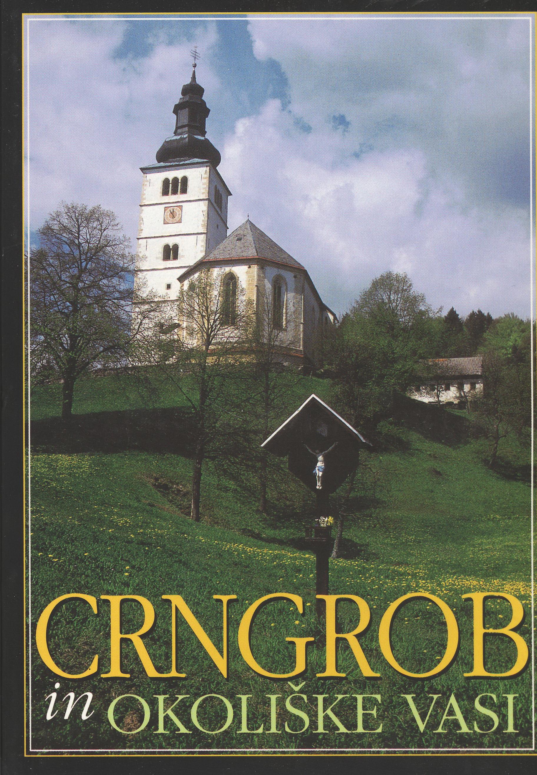 CRNGROB in okoliške vasi Book Cover
