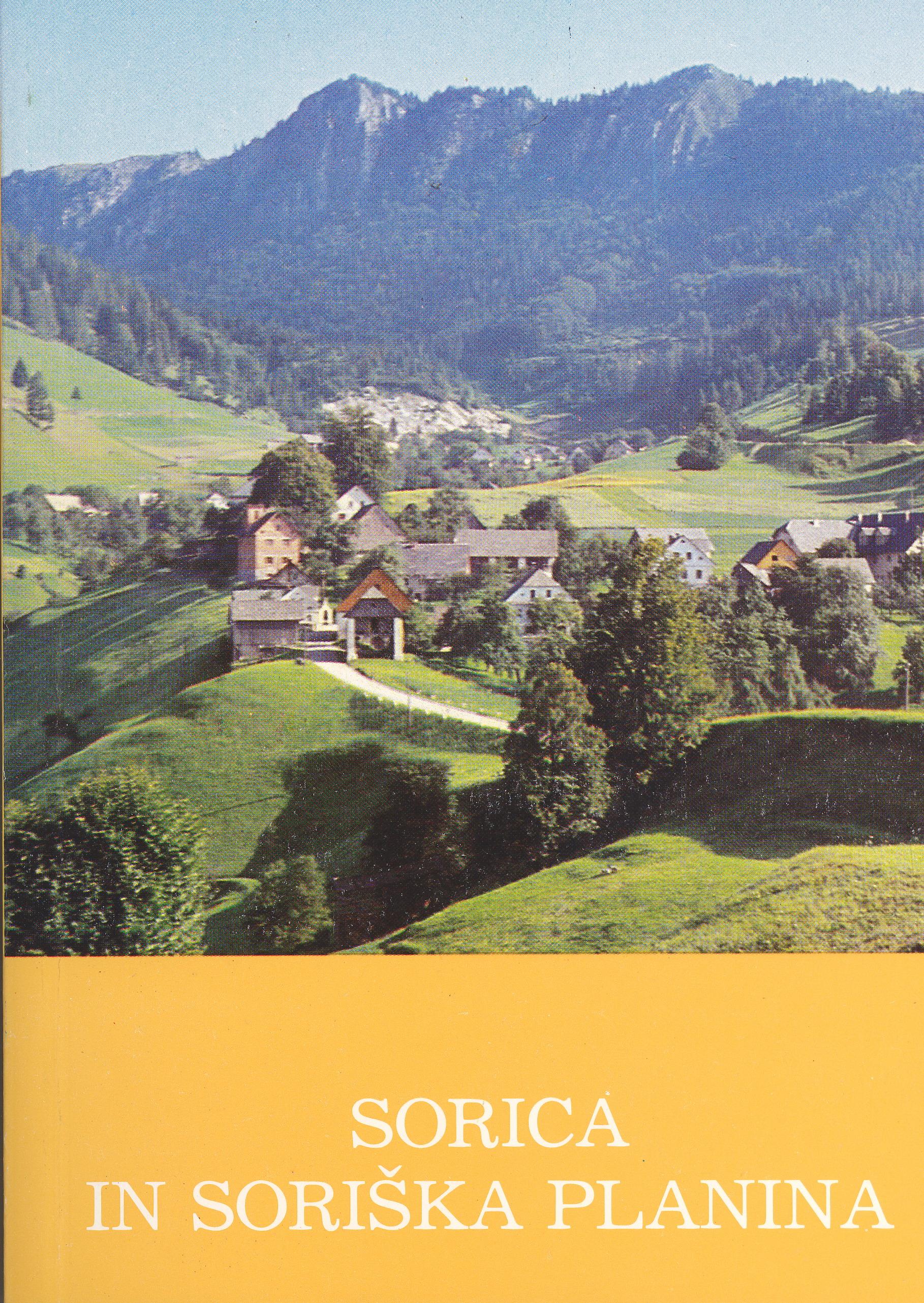 SORICA IN SORIŠKA PLANINA Book Cover