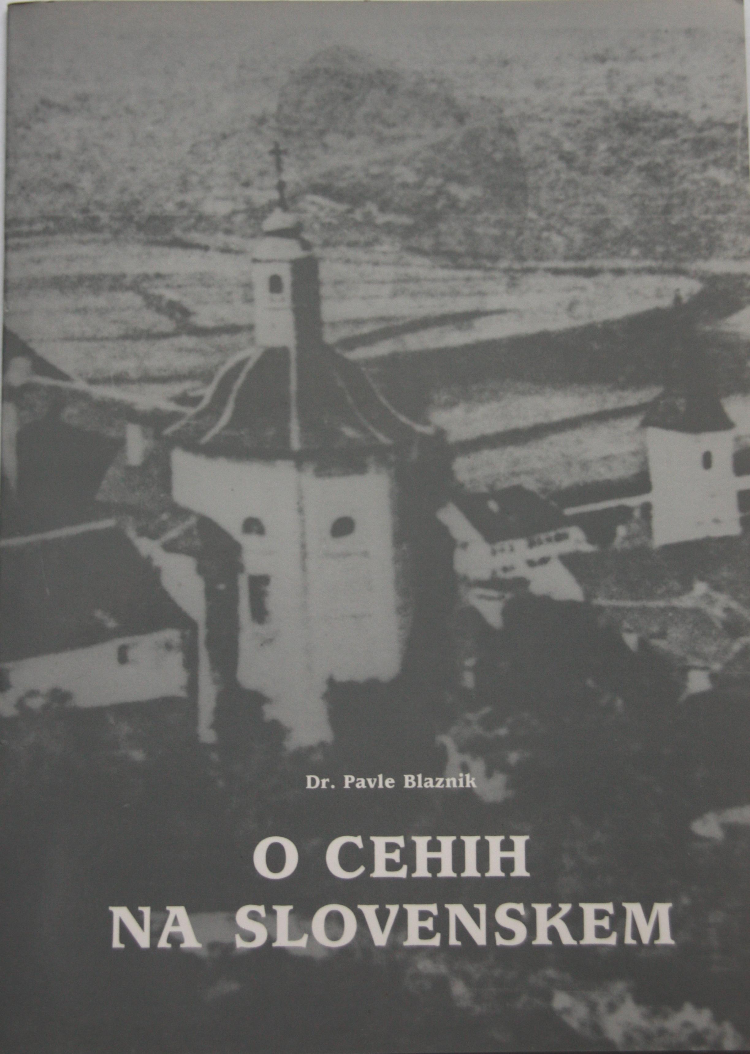 O CEHIH NA SLOVENSKEM Book Cover