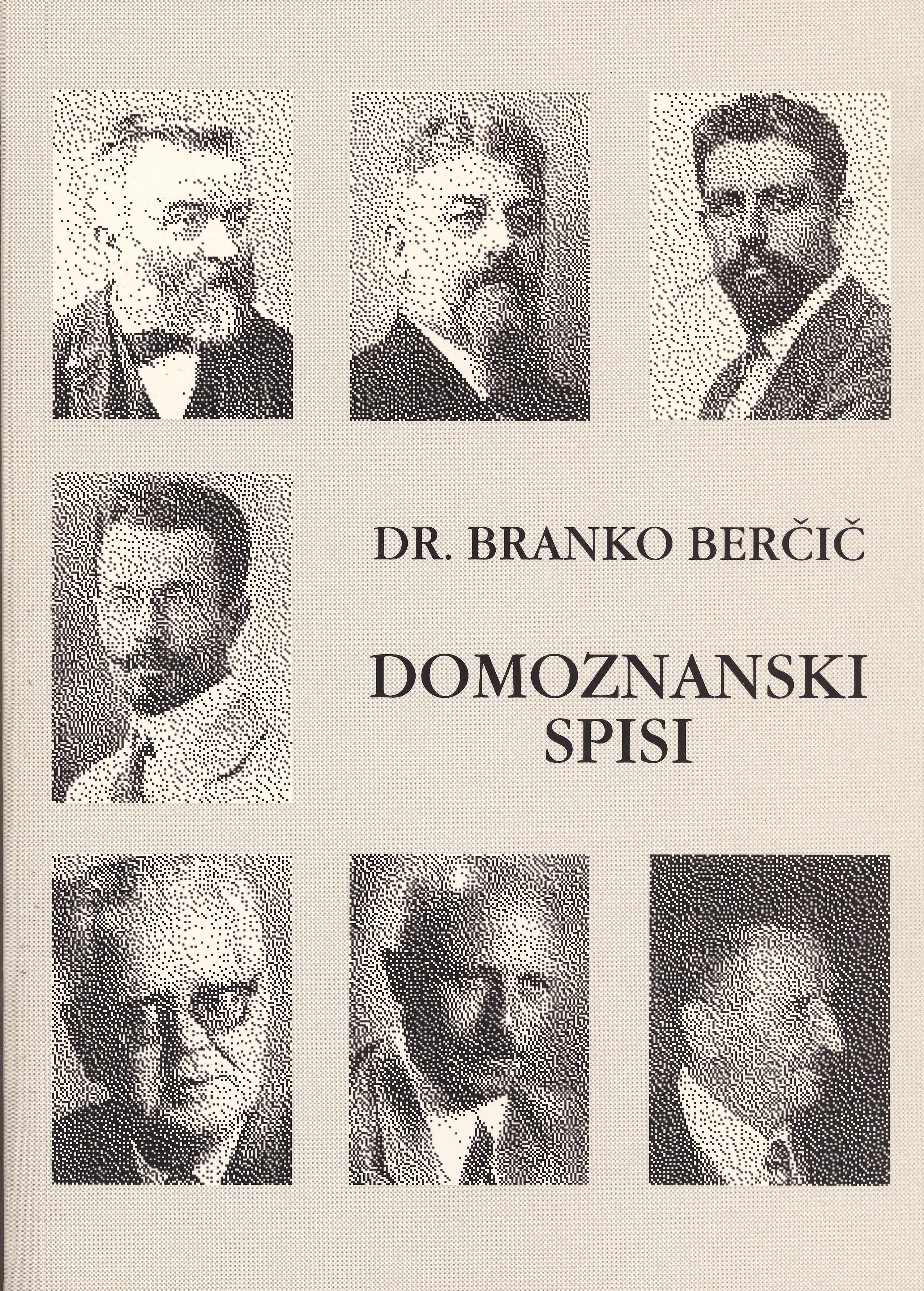 DOMOZNANSKI SPISI Book Cover