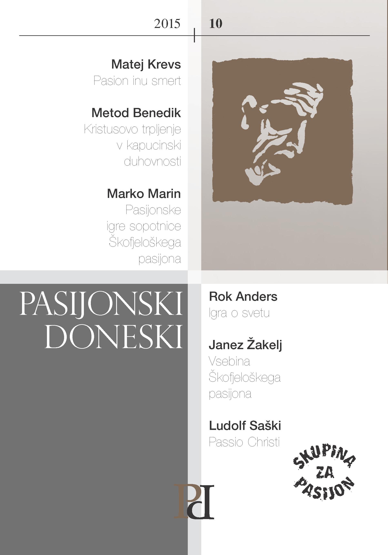 PASIJONSKI DONESKI 2015 / 10 Book Cover